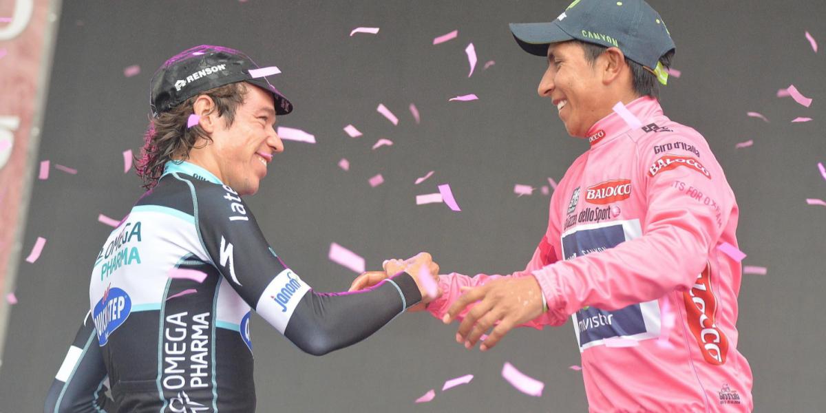 ¿Quiénes han sido los colombianos más destacados en la historia del Giro de Italia?