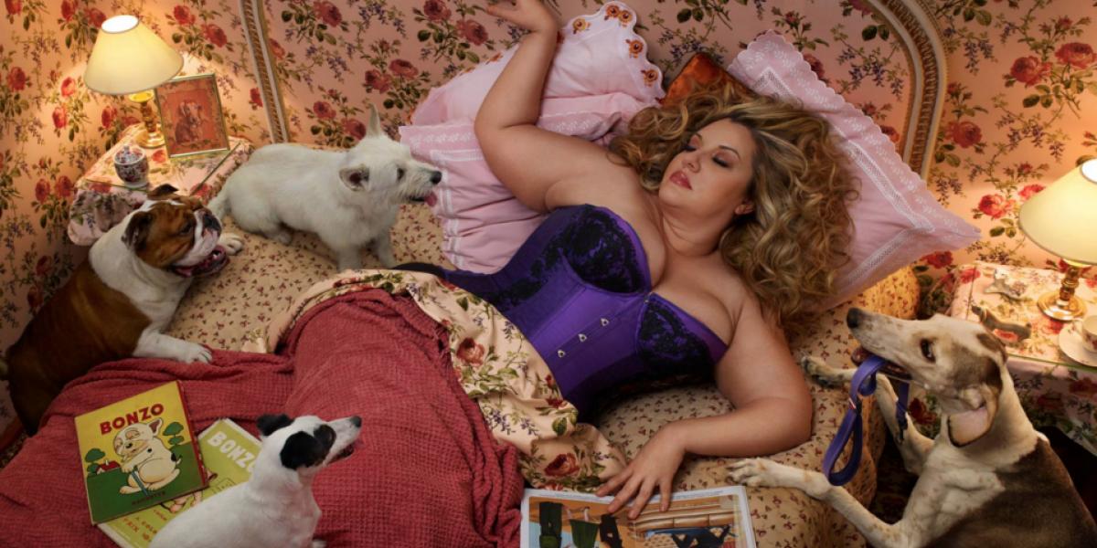 """Velvet D' Amour: """"Usé mi cuerpo como un proyecto de arte personal"""""""