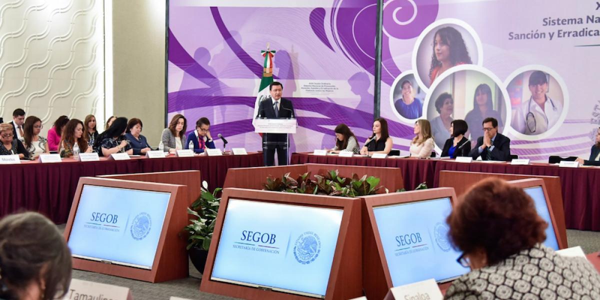 Pide Osorio Chong despenalizar el aborto por violación