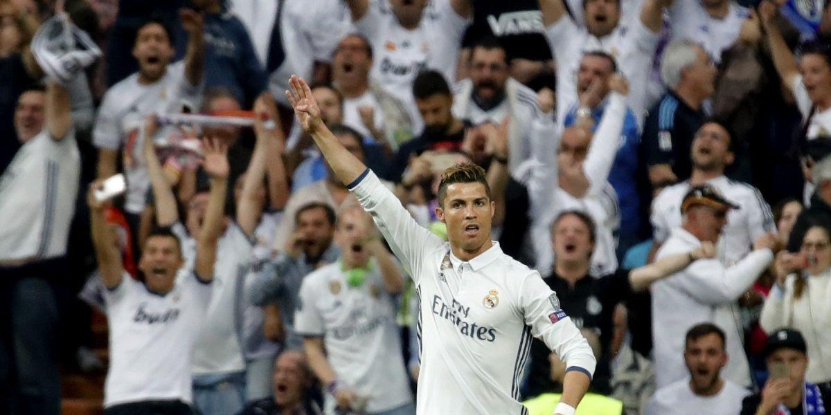¡Ronaldísimo! Real Madrid humilla al Atlético, con tres de Cristiano