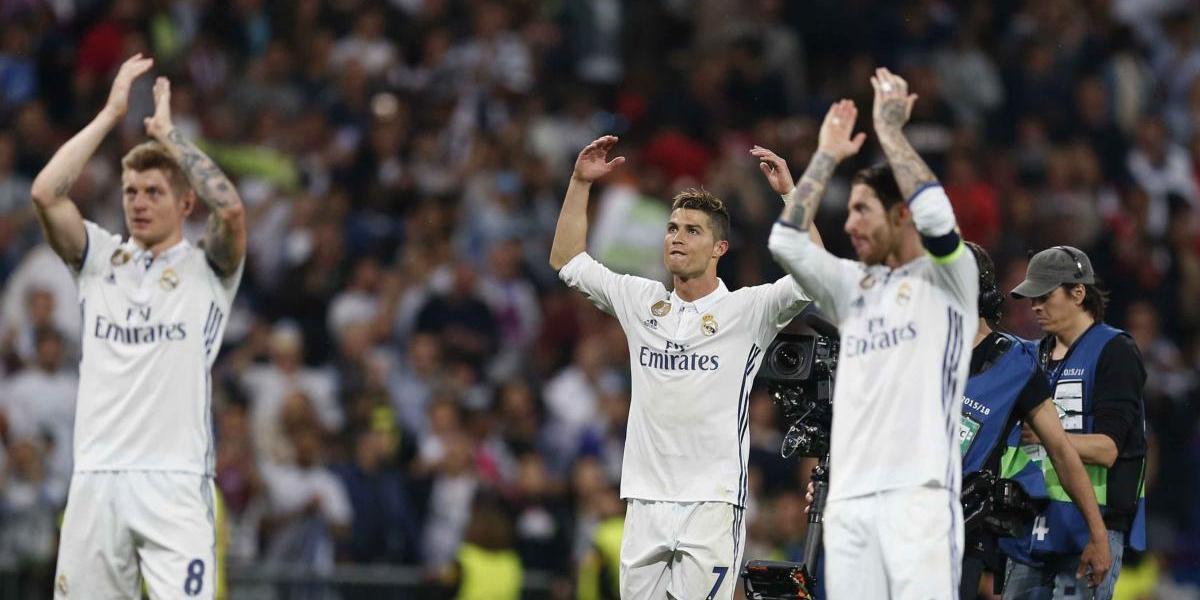 Real Madrid a un paso de la final de Liga de Campeones