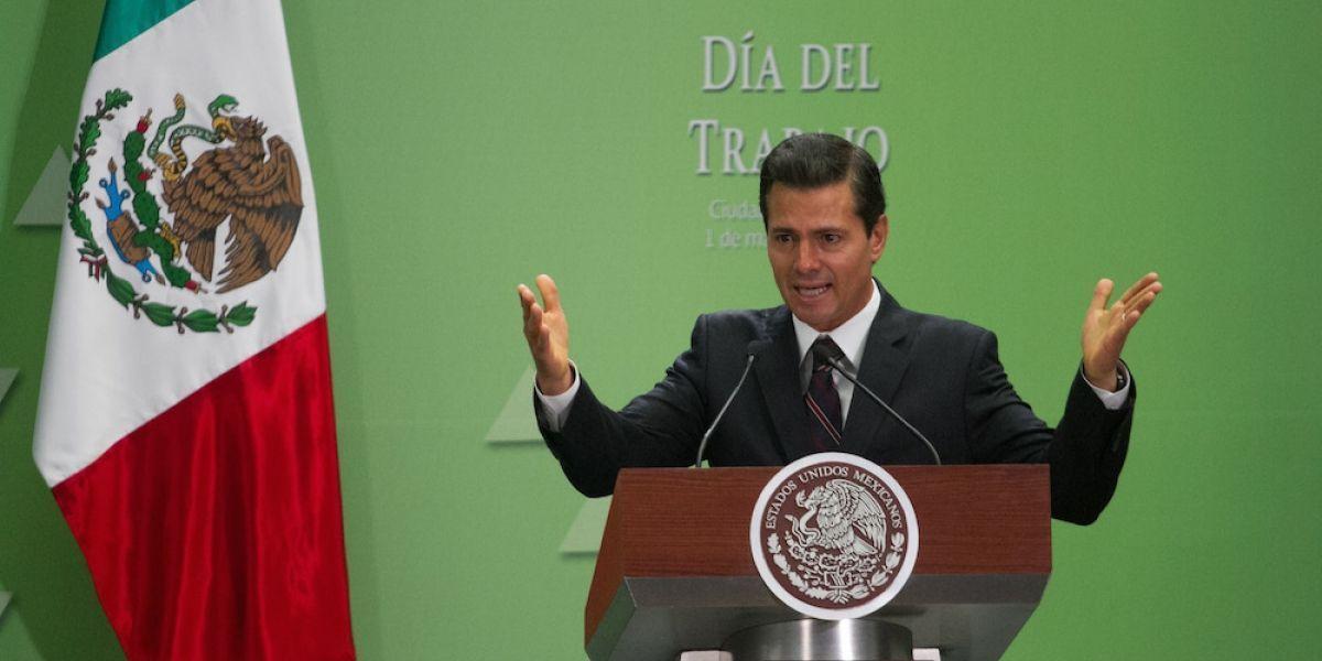 """Peña Nieto felicita al Gabinete de Seguridad por la captura de """"El Licenciado"""""""