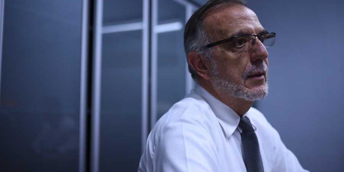 """Iván Velásquez: """"La investigación del hijo y el hermano del presidente no es una situación personal"""""""