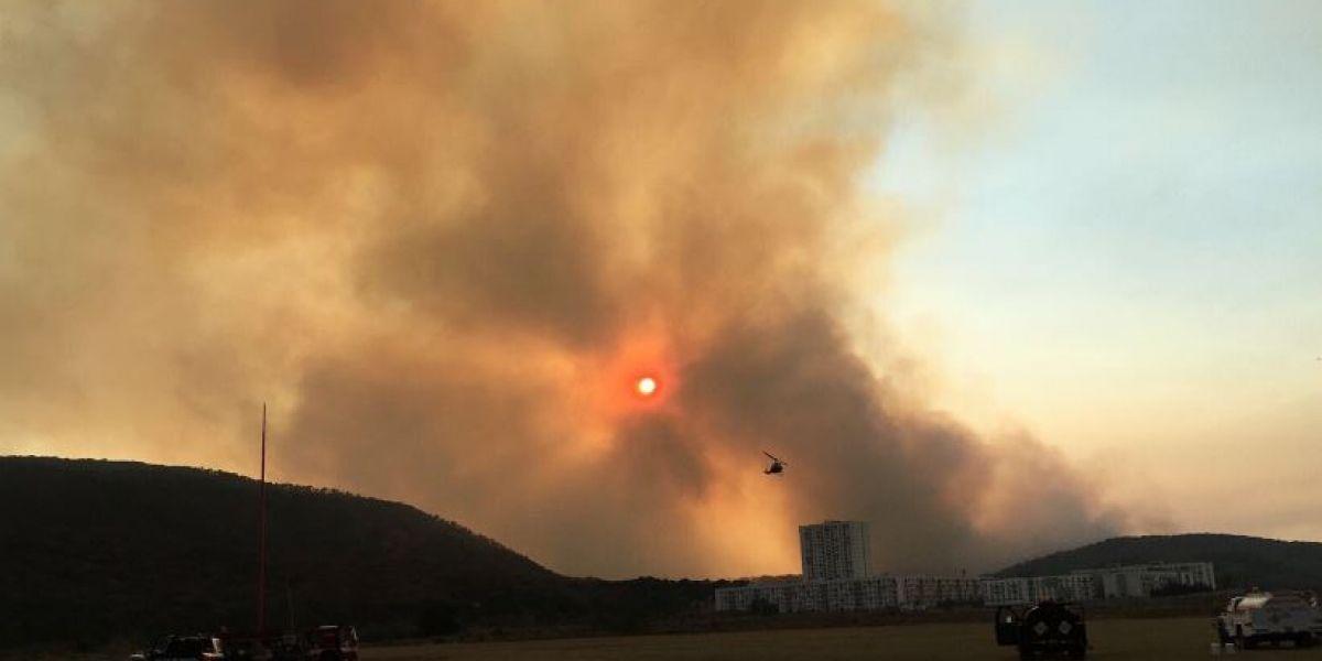Activan emergencia atmosférica en Guadalajara por incendio en La Primavera