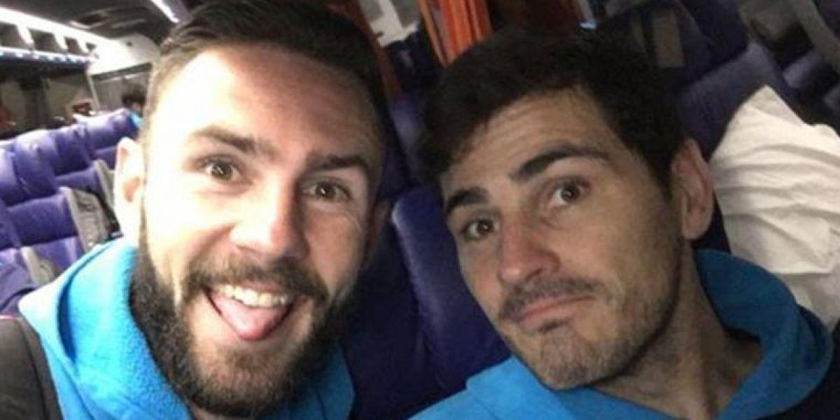 Iker Casillas regaña a Miguel Layún por decir groserías