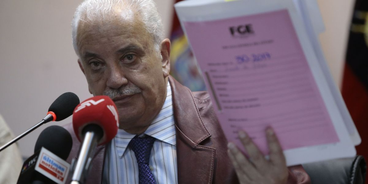 Galo Chiriboga fue retenido para investigaciones