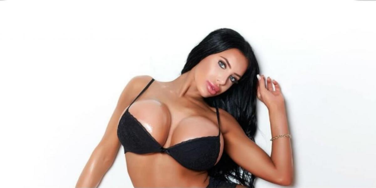 """""""Miss Silicona"""" causa controversia por sus voluptuosas curvas"""
