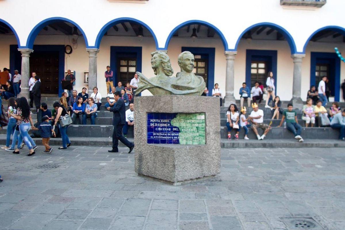 Reconocimiento a Plácido Domingo en Puebla