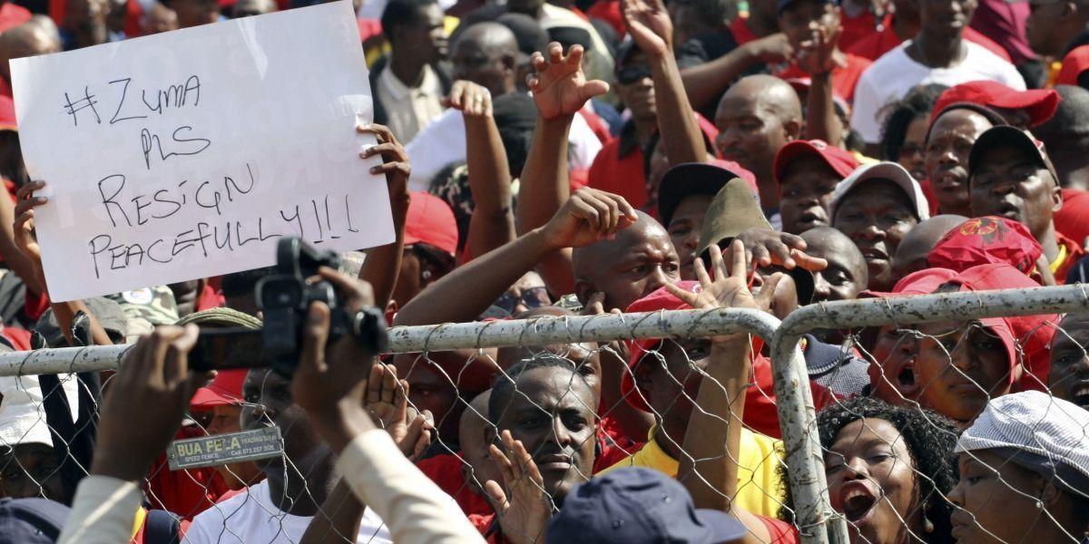 Sudáfrica: Vicepresidente se apresta a remplazar a Zuma