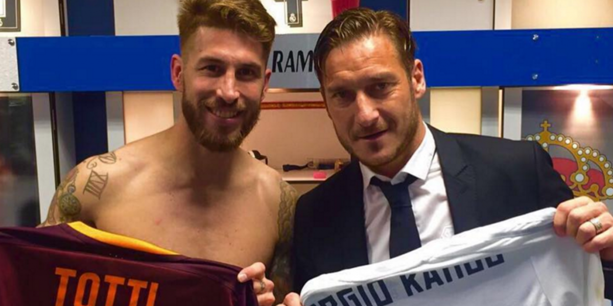 VIDEO: Sergio Ramos presume legendario regalo de Totti en redes