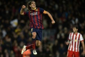 Carles Puyol (Barcelona) / imagen: AFP