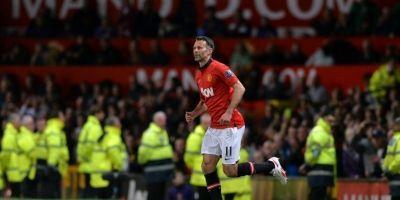 Ryan Giggs (Manchester United) / imagen: AFP