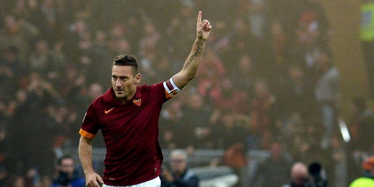 Adiós a una leyenda: Roma confirmó el retiro de Francesco Totti para el final de la temporada