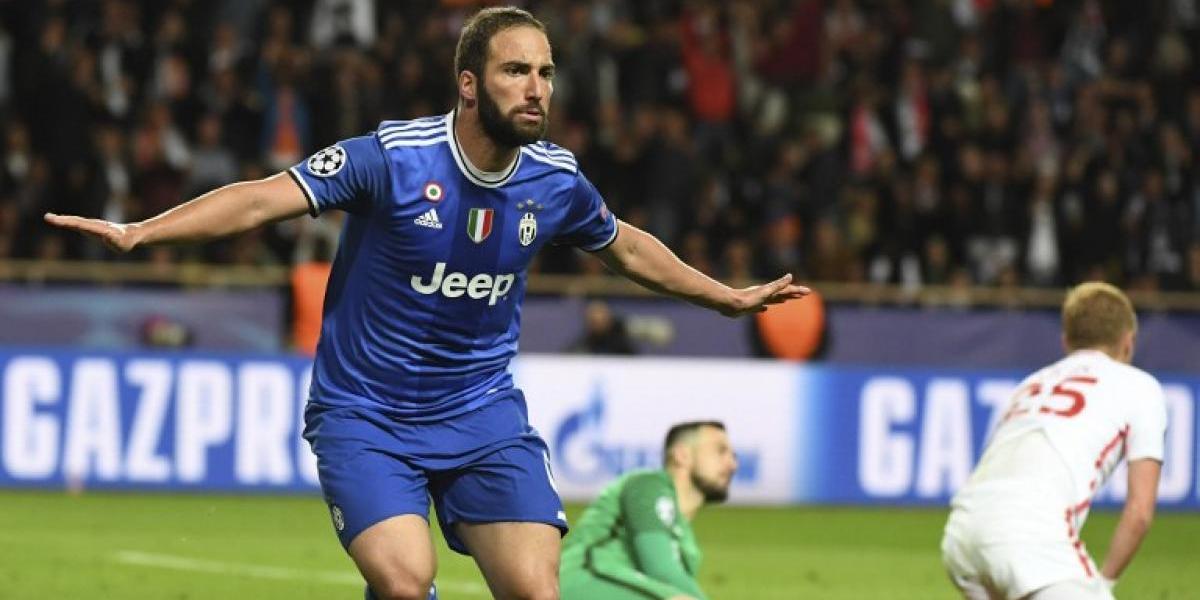 El Pipita Higuaín silenció a sus críticos y dejó a la Juventus cerca de la final de la Champions