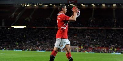 Gary Neville (Manchester United) / imagen: AFP
