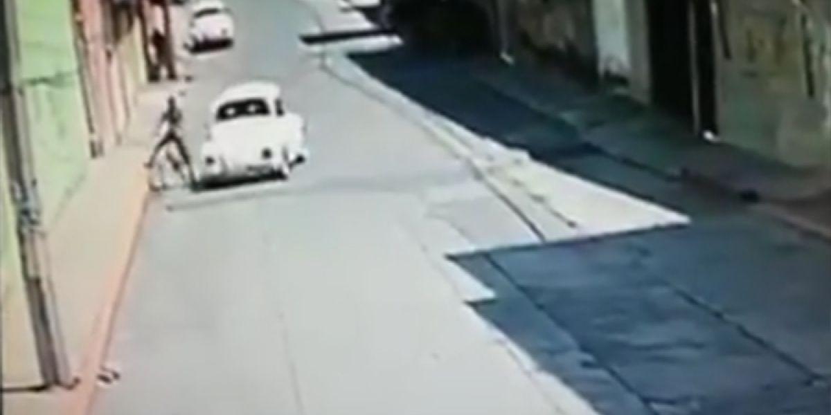 VIDEO: Captan intento de secuestro de niño en Chimalhuacán