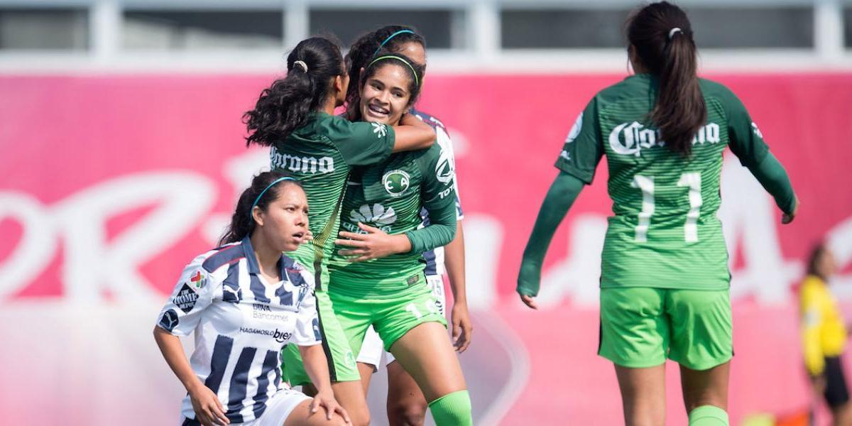 Jugadora del América fue primera anotadora en la historia de Liga MX femenil