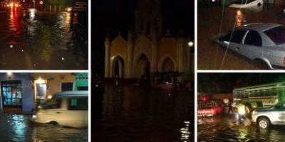 La Antigua Guatemala queda intransitable luego de las torrenciales lluvias