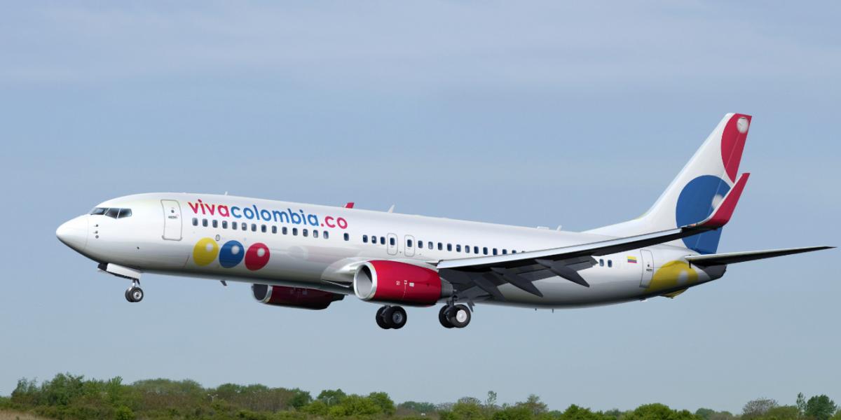 Avión de Viva Colombia fue impactado por un rayo en pleno vuelo