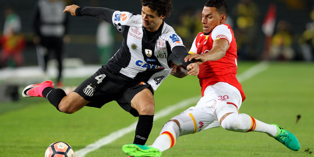 Santa Fe quiere darle el golpe a Santos y acercarse a los octavos de Libertadores