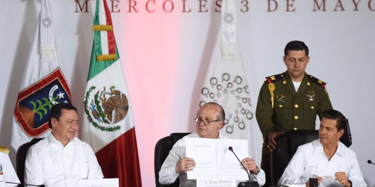 Gobernadores firman acuerdo de transparencia y combate a la corrupción