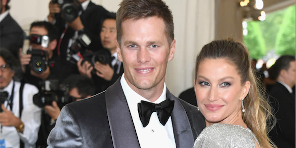 "A Tom Brady se ""le pasó la mano"" con Gisele Bündchen ¡cariñositos!"