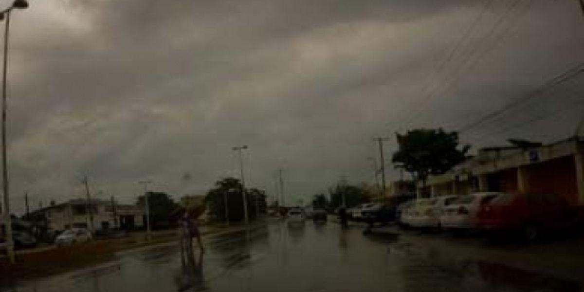 Frente Frío 45 provocará posibles tormentas fuertes en el norte del país