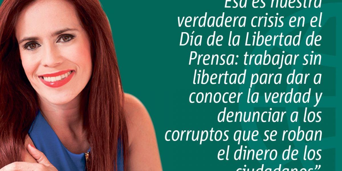 Libertad de prensa en represión