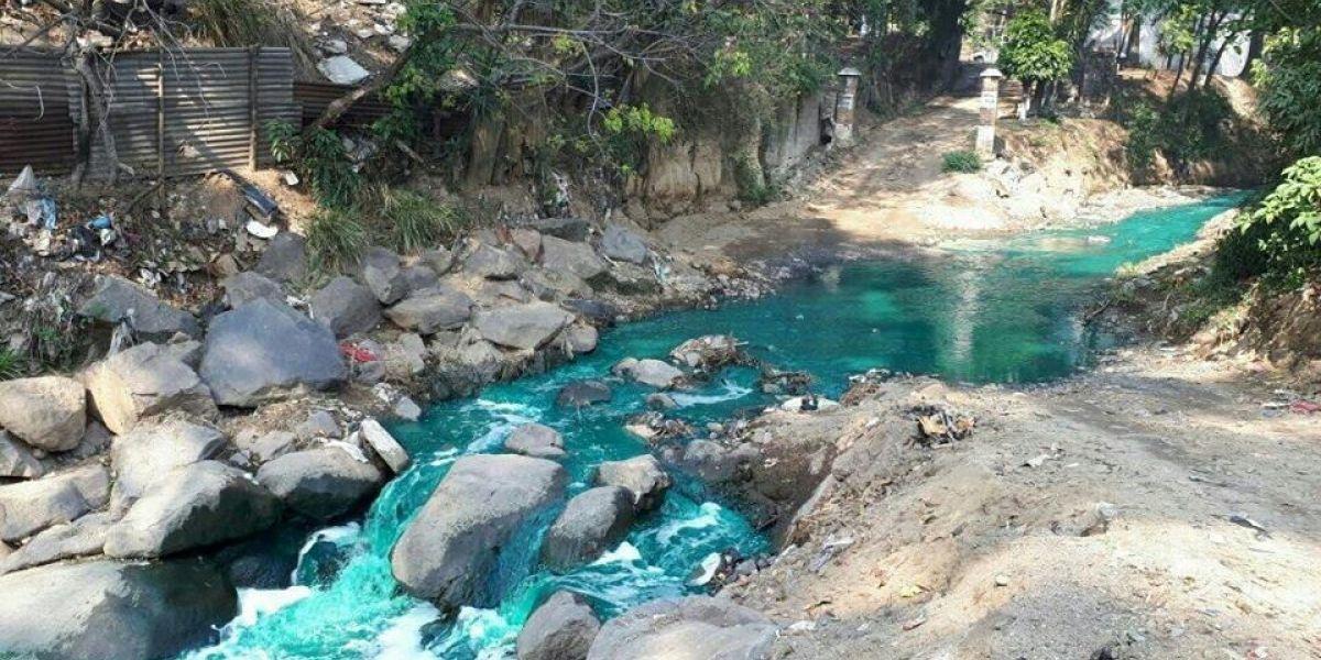 Ubican vivienda desde donde supuestamente arrojaron sustancia al río Platanitos