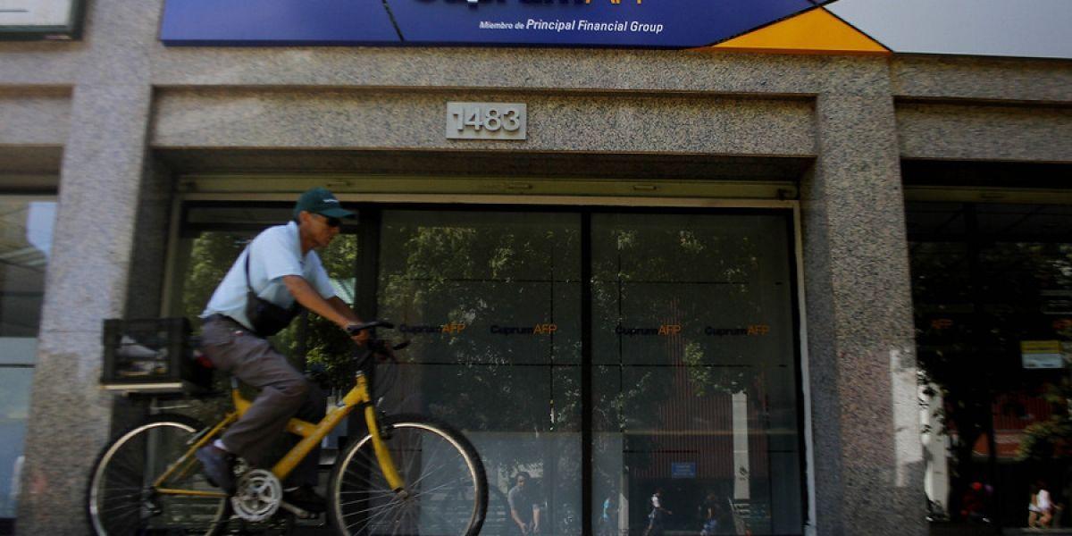 Cuprum insiste en que AFP administrarían el 5% extra de cotización gratis