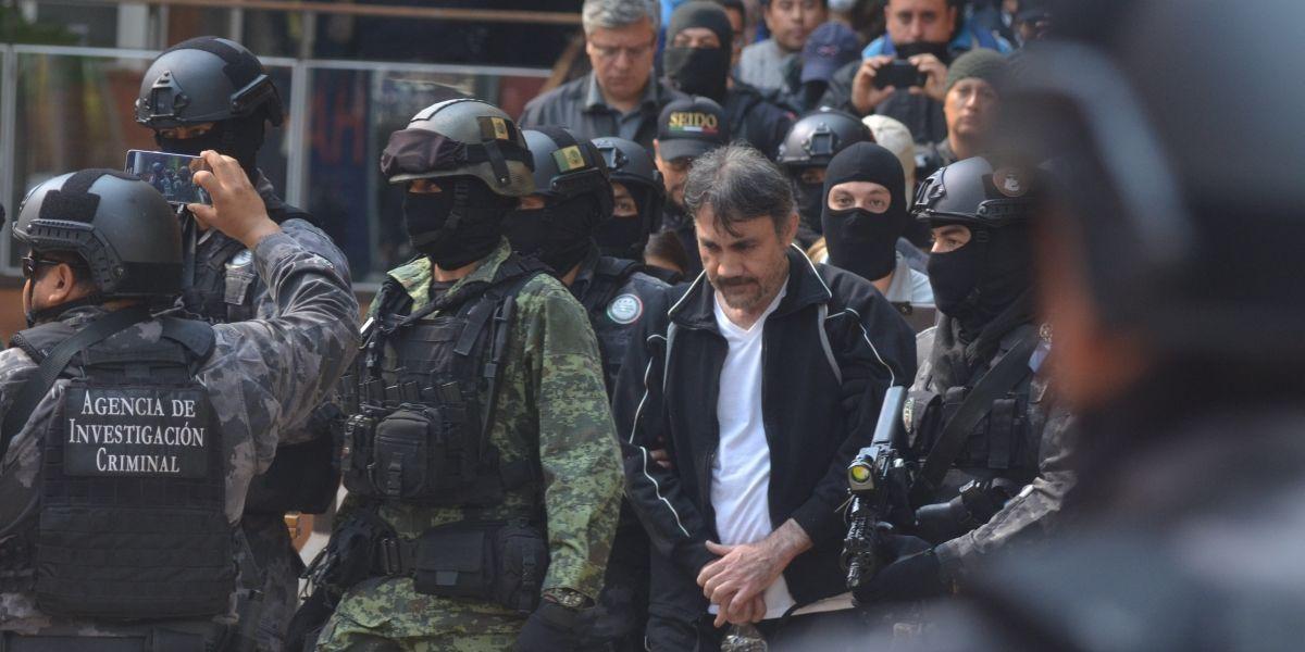 Trasladan a Dámaso López a penal de Ciudad Juárez