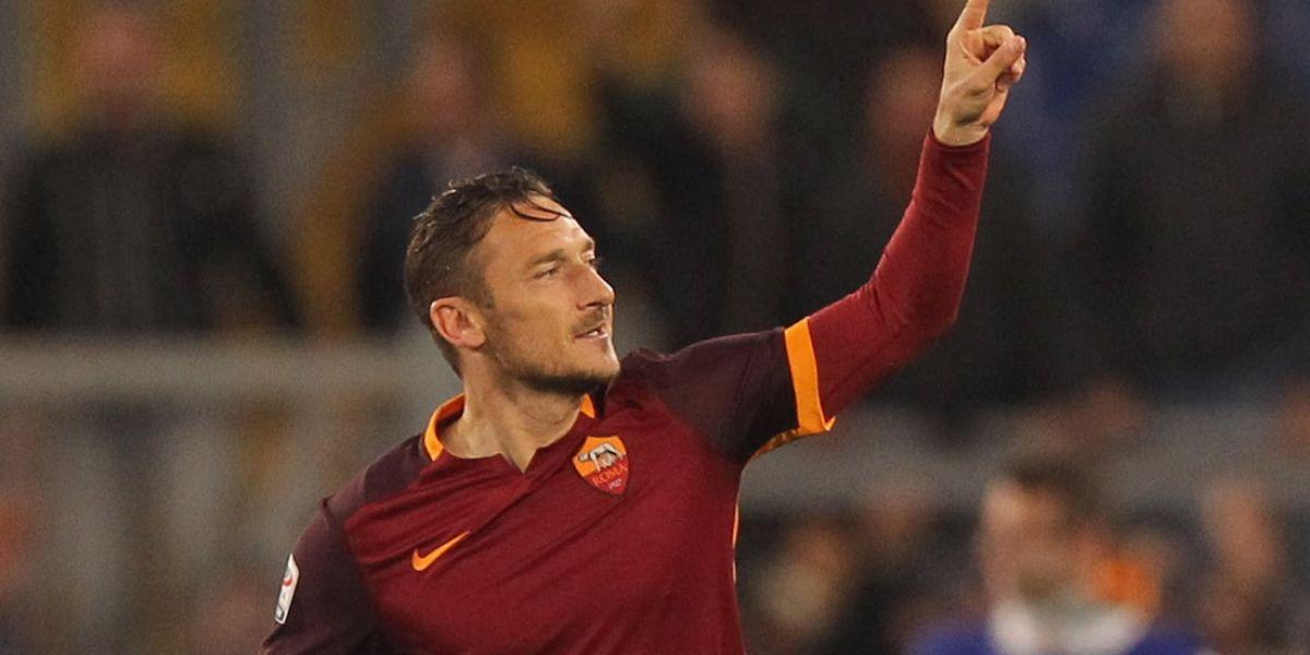 ¡Adiós leyenda! Totti se retirará al final de la temporada