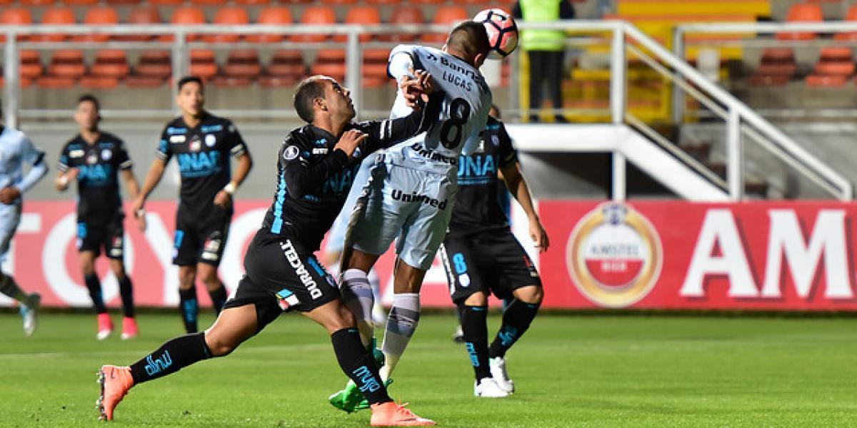 En directo: Iquique derrota a Gremio y sigue con vida en la Libertadores