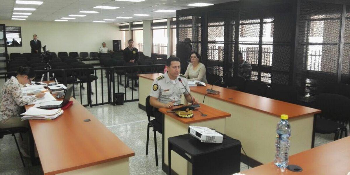 Director de la Policía declara por liberación de un secuestrado