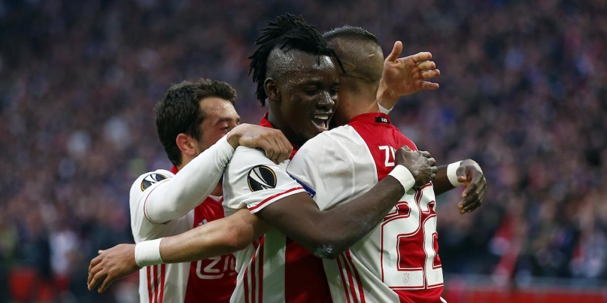 Ajax tiene un pie en la final de la Europa League
