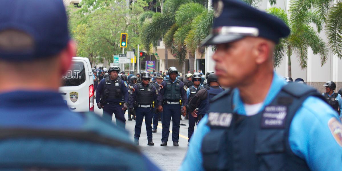 ACLU cuestiona acciones de la Policía durante Paro Nacional