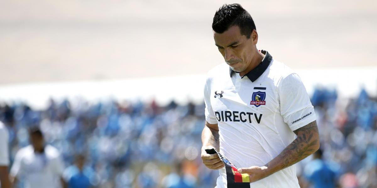 """En Colo Colo preocupa el físico de Paredes: """"Es nuestra máxima figura y ojalá pueda estar"""""""