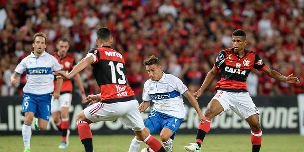 Minuto a Minuto: Flamengo vapuleó a la UC y la dejó colgando de la Libertadores