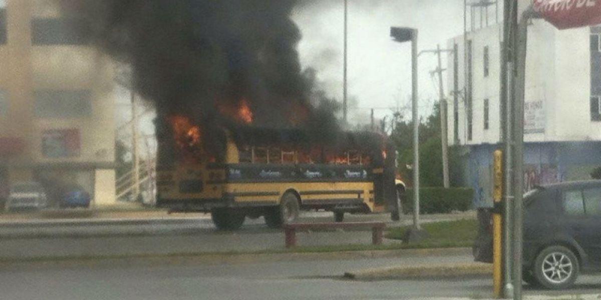 Violencia en Reynosa deja un muerto, 11 bloqueos y siete vehículos robados