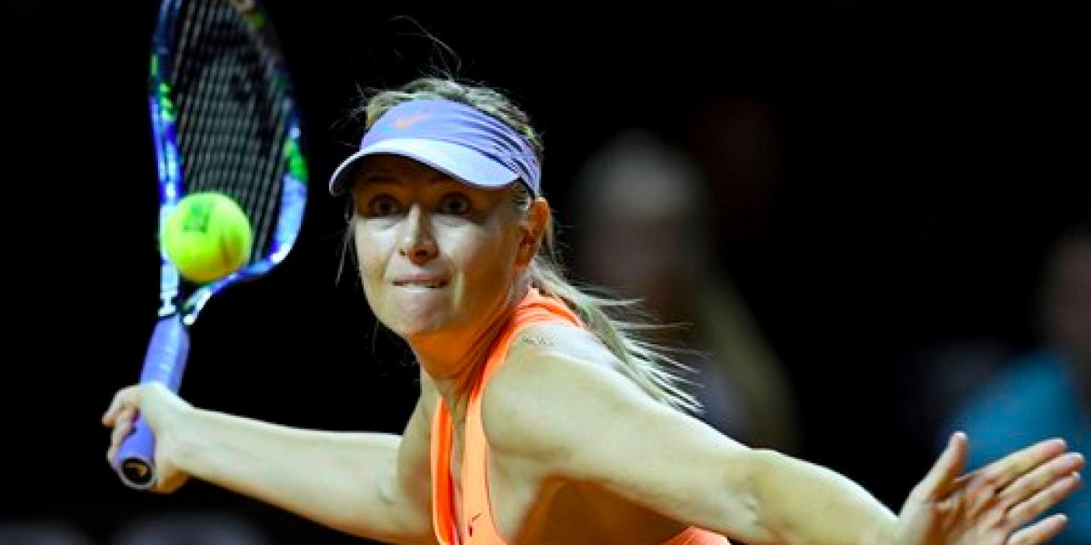 Sharapova aún no sabe si la inviten a Wimbeldon