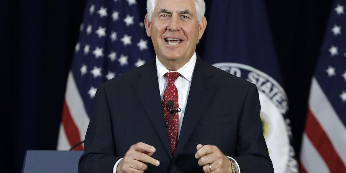 Tillerson se reunirá con funcionarios mexicanos el próximo 18 de mayo