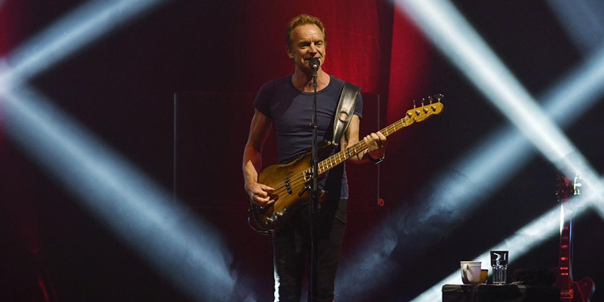 Un Sting incombustible se alzó como el mejor show del año