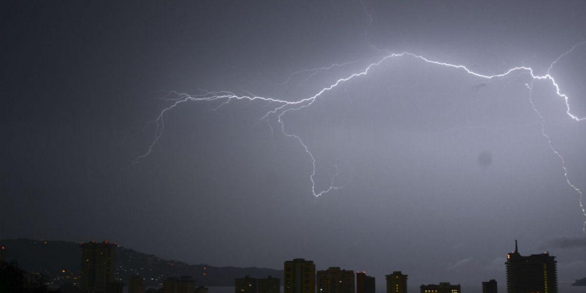 Prevén tormentas fuertes en el norte y sureste del país