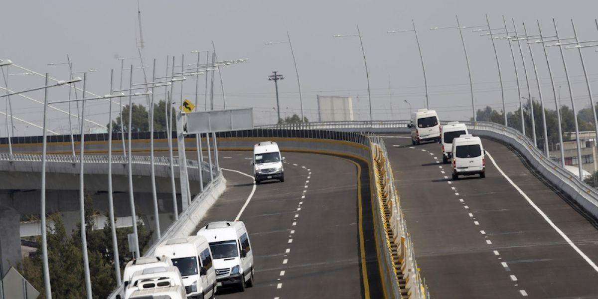 Demolerán ciclovía de autopista México-Puebla a 4 meses de ser inaugurada