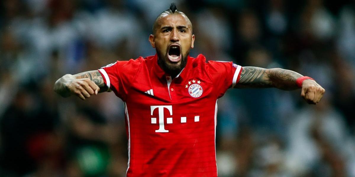 """""""Columna vertebral"""": La Bundesliga elogió el """"aporte latino"""" de Vidal en el Bayern Munich"""