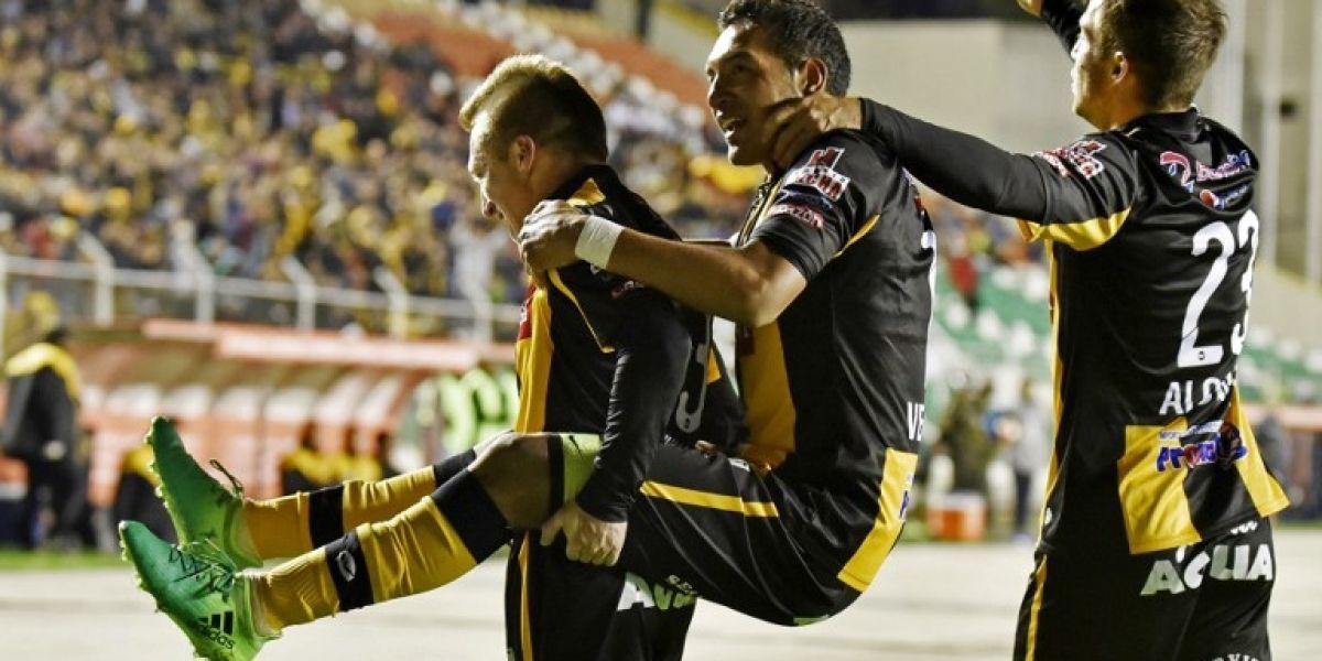 The Strongest aplasta al Sporting Cristal de Mauricio Viana en la Libertadores