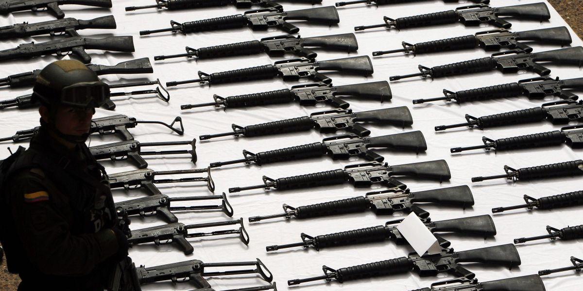 ONU recibirá este viernes las primeras 1000 armas de las Farc