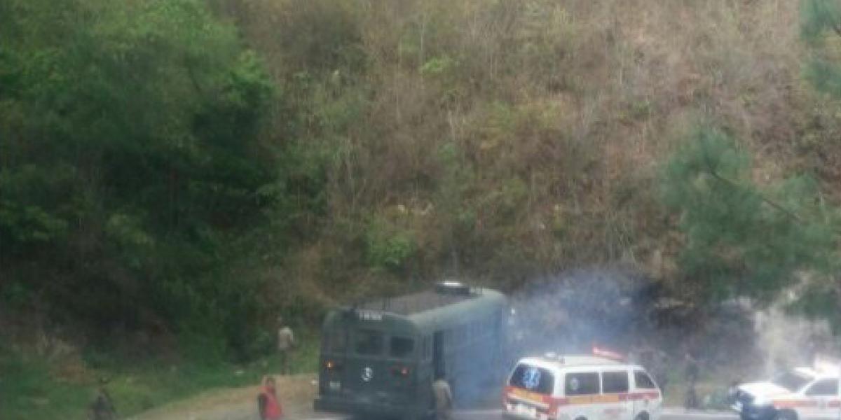 Fallas en el sistema de frenos causan accidente de autobús del Ejército