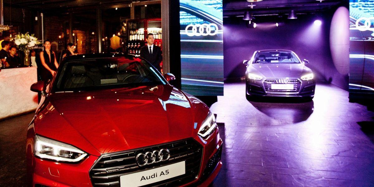 Audi presenta su renovado A5