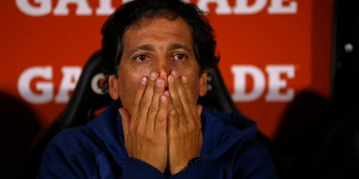 """Mario Salas golpeado: """"Se nos ve difícil la posibilidad de clasificar"""""""